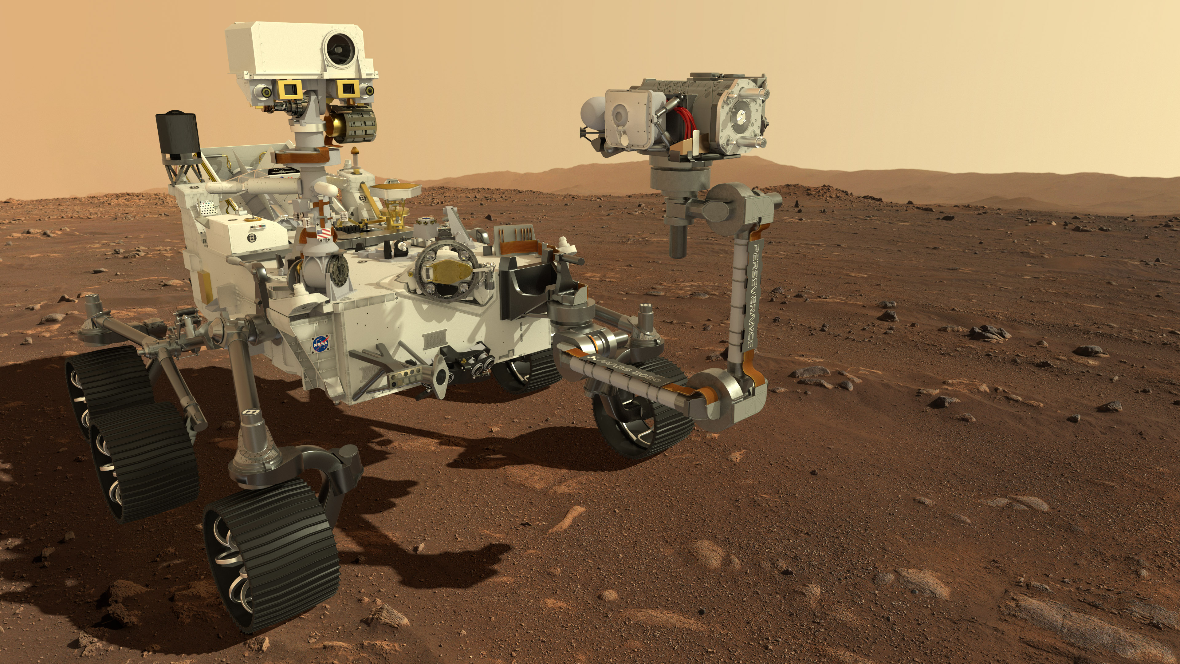 Perseverance on Mars